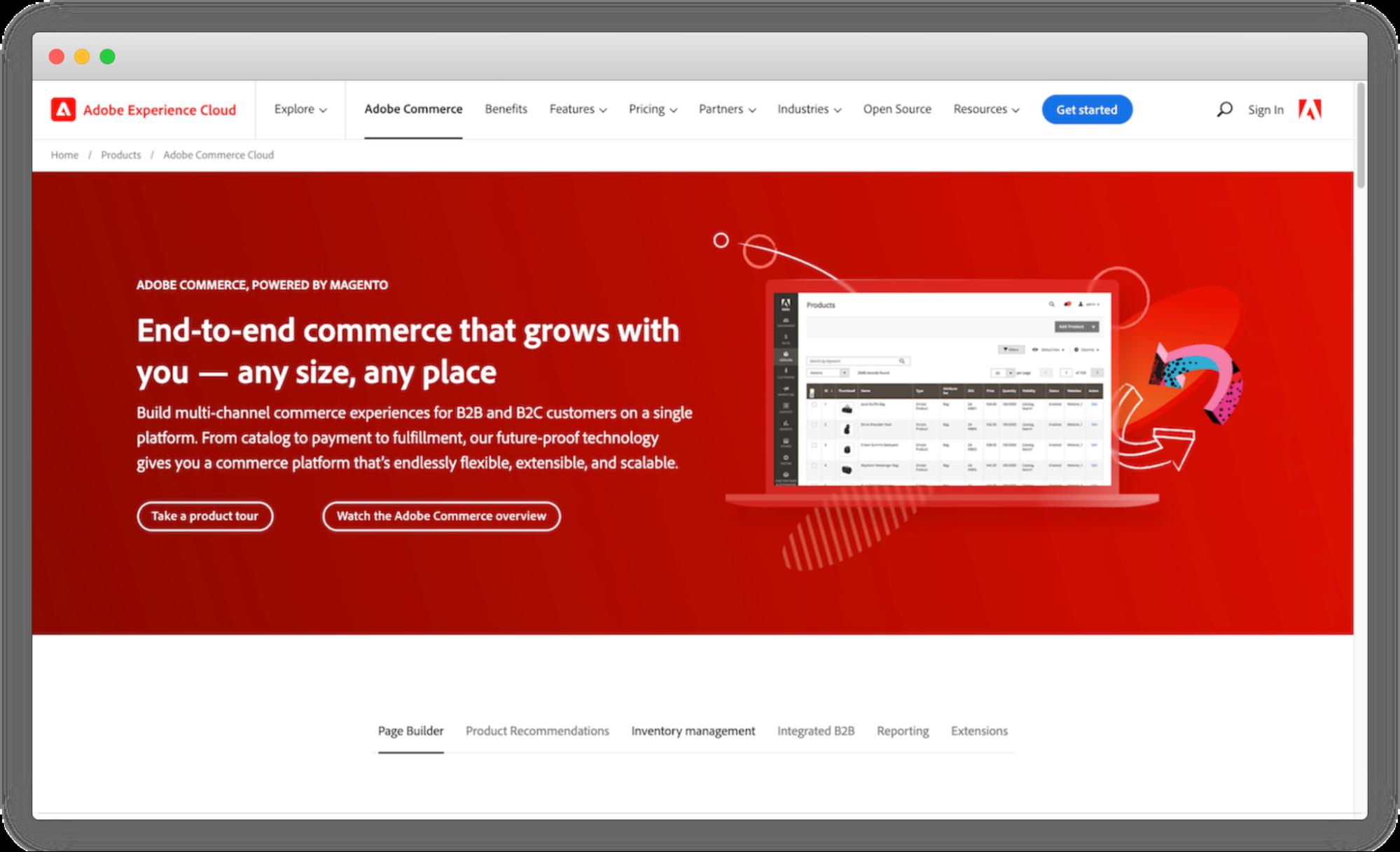 adobe-b2b-ecommerce-platform