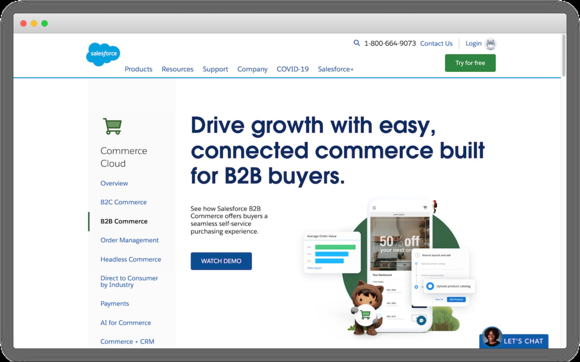 salesforce-b2b-ecommerce-platform