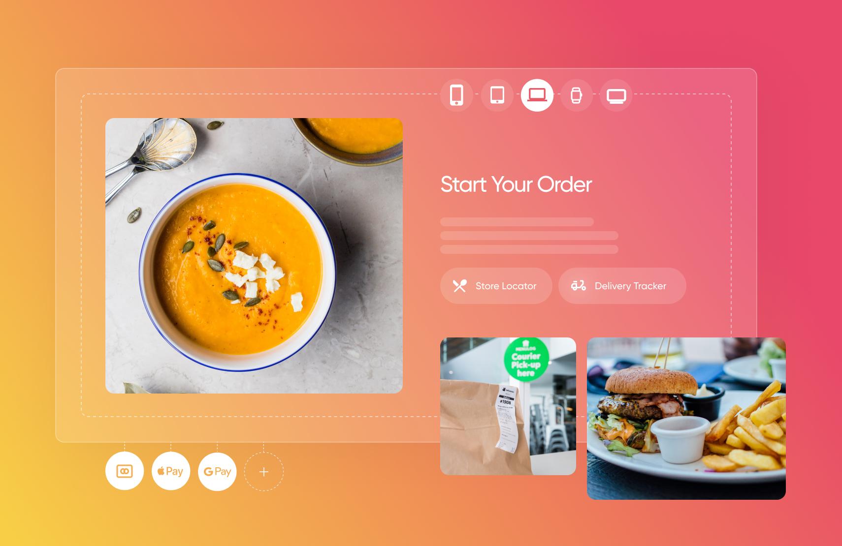 The Top E-Commerce Restaurant Websites in 2021