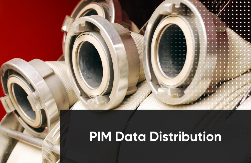 PIM data distribution