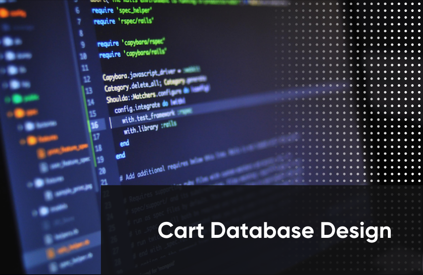 Shopping cart database design